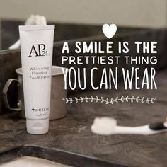 My absolute favorite Nu Skin product. The only whitening toothpaste me and my family uses. Ap 24 Whitening Toothpaste, Whitening Fluoride Toothpaste, Best Teeth Whitening Kit, Teeth Whitening Remedies, Natural Teeth Whitening, Skin Whitening, Nu Skin, Tooth Sensitivity, Dental Cosmetics