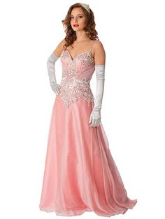 Dusty pink silver embroiderd chiffon evening gown #bluevelvetvintage #prom #oldhollywoodstyle