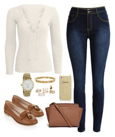 """""""Sin título #480"""" by karlamichell on Polyvore featuring moda, Michael Kors, Accessorize, Kate Spade y Cartier"""