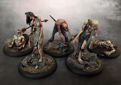 Mindless Zombies Malifaux