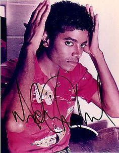 off the wall - this is the Michael I was gonna marry. I don't know who that other dude was! Lol