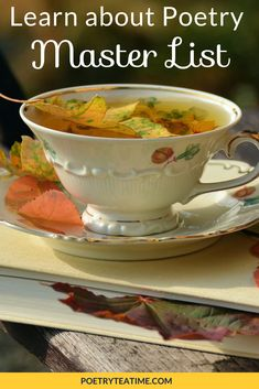Tea, a book, and New England in autumn is a perfect combination.I'd rather the leaves didn't fall in my tea, though! Tea Places, Autumn Tea, Medical Weight Loss, Selling On Pinterest, Weight Loss Drinks, My Tea, Drinking Tea, New England, Tea Time