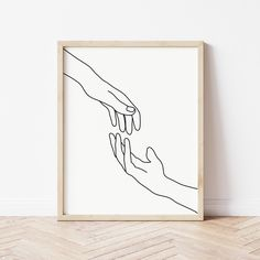 Drawings For Him, Sad Drawings, Art Drawings Sketches, Hand Reaching Out Drawing, Hands Reaching Out, Valentines Day Drawing, Hand Lines, Drawing Projects, Hand Sketch