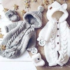 Most up-to-date Totally Free Crochet for kids clothes Suggestions Baby Strampler häkeln, Baby Booties häkeln, gestrickter Baby Mädchen Jungen Overall, Neugeborene Winter Baby Clothes, Baby Girl Winter, Winter Newborn, Crochet Baby Shoes, Crochet Baby Booties, Crochet Clothes, Knitted Baby Outfits, Knitted Baby Clothes, Crochet Socks