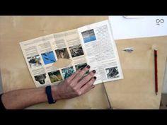 How to make a Paper Wallet_Cómo hacer una cartera de papel