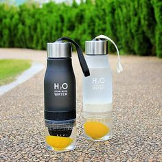 Drink your water infused with your favorite fruit on this Fruit Infusion Water Bottle. It comes in several colors and is pretty convenient for everyday use. You are going to love carrying this bottle