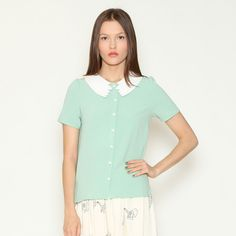 Shirt Audrey Mint