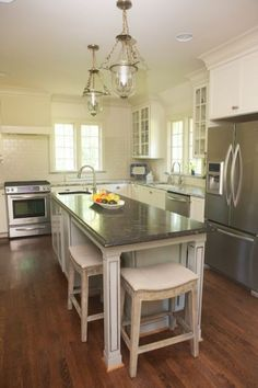 Long Narrow Kitchen Island Table  Home Ideas  Pinterest  Narrow Unique Long Narrow Kitchen Design Decorating Design