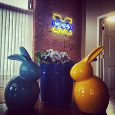 For those of our Wolverines celebrating Easter, may it be Maize & Blue!