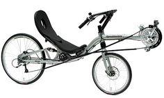 bicicleta reclinada - manillar alto 2