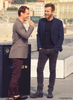 Jude Law & Ewan McGregor
