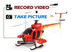 "YIBOO UJ301 Medium 3 Channel HELICAM 11"" RC Helicopter $99.99"