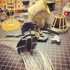 Check out this awesome in progress shot of Instagram user jasonrkeith13's Millennium Falcon! Will you use fiber optics on your build? Maquette Star Wars, Falcon 1, Millennium Falcon Model, Sf Movies, Sci Fi Models, Star Wars Models, Model Hobbies, Star Wars Ships, Star Wars Toys