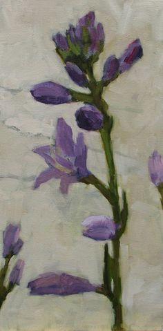Hosta, oil on canvas