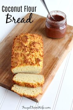 Low carb, and easy to make coconut flour bread!You can find Coconut flour recipes and more on our website.Low carb, and easy to make coconut flour bread! Egg And Bread Recipes, Easy Keto Bread Recipe, Keto Mug Bread, Best Keto Bread, Keto Pancakes, Bread Machine Recipes, Low Carb Bread, Low Carb Recipes, Coconut Bread Machine Recipe