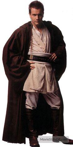 Ewan McGregor as Obi-Wan Kanobi in Star Wars Star Wars Jedi, Costume Star Wars, Jedi Costume, Star Wars Characters, Star Wars Episodes, Capa Harry Potter, Traje Jedi, Starwars, Anniversaire Star Wars