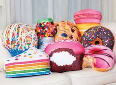 Candy and Cake Pillows!
