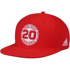 1f4c4b6847a326 Men's Chicago Fire adidas Red Jersey Hook Flatbrim Snapback Adjustable Hat,  $25.99
