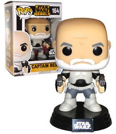 FUNKO POP! Star Wars Rebels Captain Rex #164 EXCLUSIVE Mint Condition #FunkoPop #StarWars