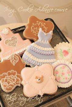 アイシングクッキーアドバンスクラス…とお菓子の家2014 |アイシングクッキーとシュガークラフト 東京シュガーアートにいさちこ