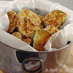 Lightened Up Zucchini Chips Recipe