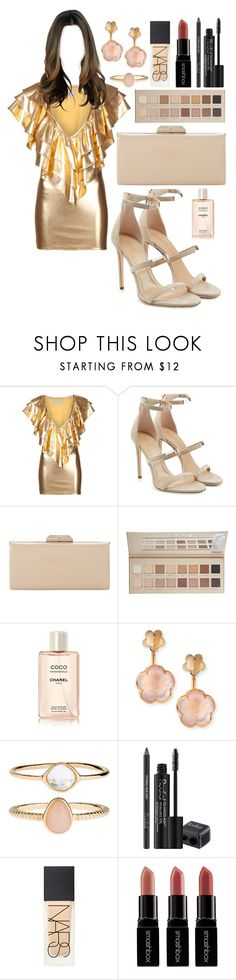 """Untitled #1745"" by elizabeth-xsomosmasqueamorr ❤ liked on Polyvore featuring JULIA CLANCEY, Tamara Mellon, Dune, LORAC, Chanel, Pasquale Bruni, Accessorize, Rodial, NARS Cosmetics and Smashbox"