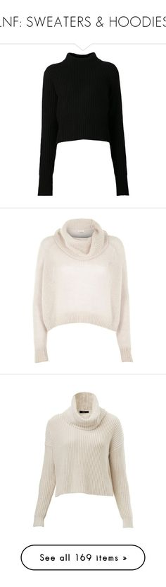 """LNF: SWEATERS & HOODIES"" by simpsonizer0718 ❤ liked on Polyvore featuring tops, sweaters, shirts, jumpers, black, wool long sleeve shirt, long sleeve turtleneck shirt, wool turtleneck sweater, long sleeve sweater and turtle neck shirt"