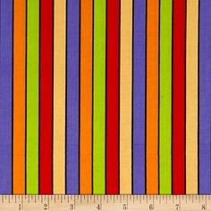 Designed by Shelly Comiskey for Henry Glass, this cotton print collection is perfect for halloween quilt, apparel, and home decor accents. Colors include orange, red, yellow, purple, green, and black.
