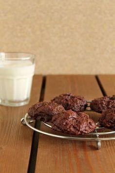 Μπισκότα σοκολάτας με άνθος αραβοσίτου