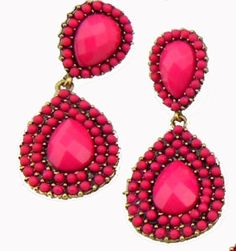 How do I, of all people, not have pink earrings?