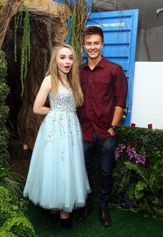 Sabrina & Peyton at Sab's 16th birthday party