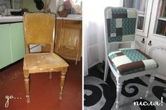Updating old chair