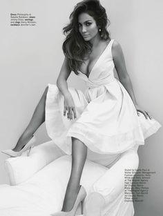 Jennifer Lopez wearing Philosophy Spring 2014 Dress