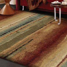 Euphoria Collection Capizzi Multi Olefin Area Rug (7'10 x 10'10) - Overstock™ Shopping - Great Deals on Carolina Weavers 7x9 - 10x14 Rugs