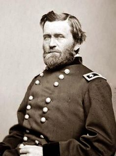 """""""[Ulysses S. Grant] achieved international fame as the leading Union general in the American Civil War, capturing Vicksburg in 1863 and Richmond in 1865. He accepted the surrender of his great Confederate opponent Robert E. Lee at Appomattox Courthouse."""""""