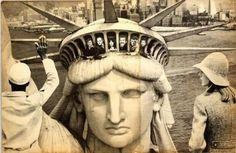 ion barladeanu collage artwork, 1983