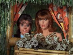 Gilligan's Island - Mary Anne (Dawn Wells( & Ginger Grant (Tina Louise)