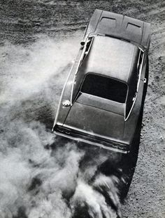 I love how this '68 Charger has a slow motion feel.