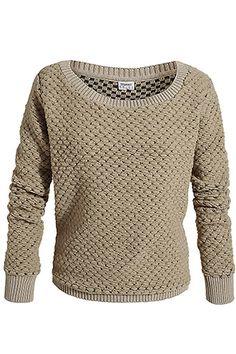 pull double face en laine vierge mélangée