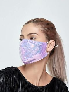 Sequin Face Masks From Shein – Hustle Girl