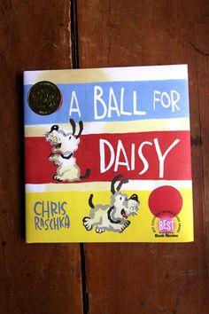 2012 Caldecott Winner: A Ball for Daisy. It's a wordless book.