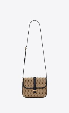 Saint Laurant, Cute Bags, Back Strap, Smooth Leather, Fashion Bags, Satchel, Monogram, Handbags, Pocket