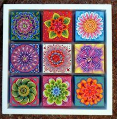Nine Flowers by Imogen Skelley
