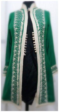 Dior Couture, Couture Fashion, Hijab Fashion, Fashion Outfits, Womens Fashion, Moroccan Fashion, Moroccan Caftan, Traditional Fashion, Traditional Outfits