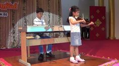 Suzuki Violin Book 1; She plays 4 songs (Etude, Minuet1,2,3) with her teacher (Master Nan). and her Brother […] at Kornpitaksuksa School. At Thailand—See more of this young violinist #from_drillfin