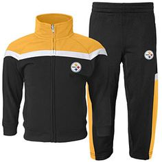 Get this Pittsburgh Steelers Toddler Trainer Pant Set at ThePittsburghFan.com  Pittsburgh Steelers Merchandise e15f67a37