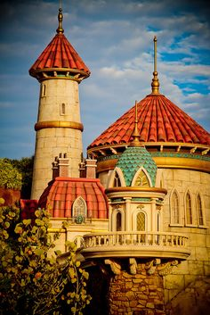 Eric's castle #DisneyWorld #NewFantasyland
