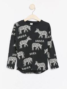 Marca Spotted Zebra Fleece Zip-up Hoodies Unisex ni/ños