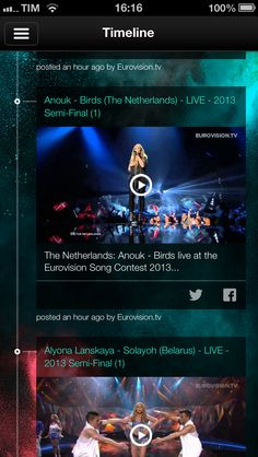 Euromusic app