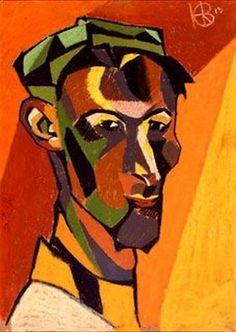 Self-Portrait (1913) by Henri Gaudier-Brzeska
